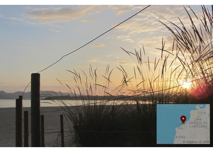 Amanecer en la playa del Vao
